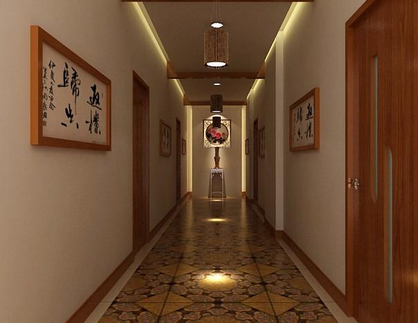 足疗走廊装修效果图
